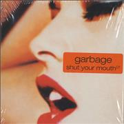 Garbage Shut Your Mouth UK 3-CD set