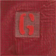"Garbage Stupid Girl - Red fabric sleeve UK 7"" vinyl"