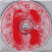 Garbage Stupid Girl - Tee's Radio Mix Netherlands CD single Promo