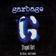 Garbage Stupid Girl France CD single