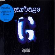 Garbage Stupid Girl UK 2-CD single set