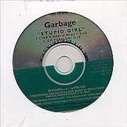 Garbage Stupid Girl USA CD single Promo