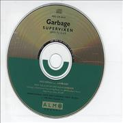 Garbage Supervixen USA CD single Promo