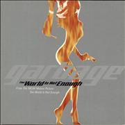 Garbage The World Is Not Enough UK CD single