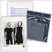 Garbage Version 2 UK press kit Promo