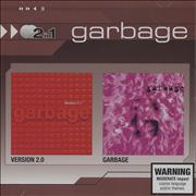 Garbage Version 2.0 / Garbage Australia 2-CD album set