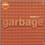 Click here for more info about 'Garbage - Version 2.0 - Orange Vinyl - Sealed'
