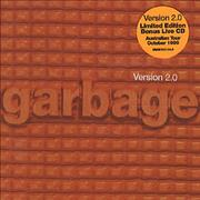 Garbage Version 2.0 Australia 2-CD album set