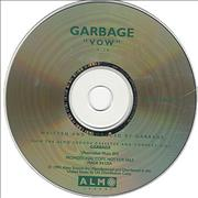Garbage Vow USA CD single Promo