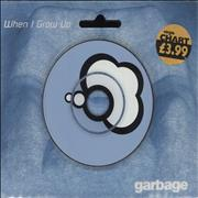 "Garbage When I Grow Up UK 3"" CD single"
