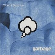 Garbage When I Grow Up Europe CD single