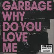 Garbage Why Do You Love Me Australia CD single