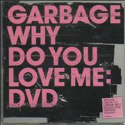 Garbage Why Do You Love Me UK DVD Single