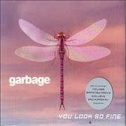 Garbage You Look So Fine - CD1 & 2 UK 2-CD single set
