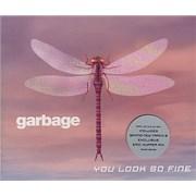 Garbage You Look So Fine UK CD single