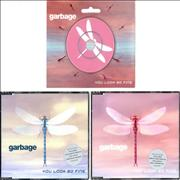 "Garbage You Look So Fine UK 3"" CD single"