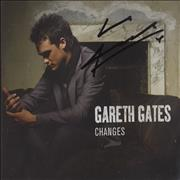 Click here for more info about 'Gareth Gates - Changes - Autographed'