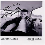 Click here for more info about 'Gareth Gates - Publicity Photograph'