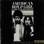 Click here for more info about 'Garland Jeffreys - American Boy & Girl - Promo Stickered'