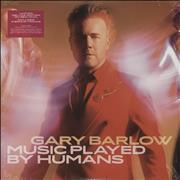 Click here for more info about 'Gary Barlow - Music Played By Humans - Red Vinyl - Sealed'