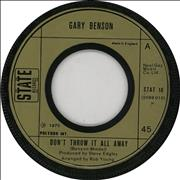 Click here for more info about 'Gary Benson - Don't Throw It All Away - Wide centre'