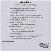 Click here for more info about 'Gary Glitter - '70s Glam Rock, Pop Rock, Funky Disco'