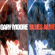 Gary Moore Blues Alive UK 2-LP vinyl set