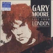 Click here for more info about 'Gary Moore - Live From London - 180gm Blue Vinyl - Sealed'