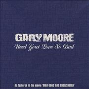 Gary Moore Need Your Love So Bad - Digipak UK CD single