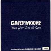 Click here for more info about 'Gary Moore - Need Your Love So Bad'