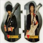 Gary Moore Out In The Fields UK shaped picture disc