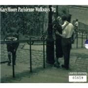 Gary Moore Parisienne Walkways - Part 1 & 2 UK 2-CD single set