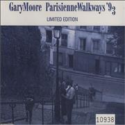 Gary Moore Parisienne Walkways 93 UK CD single