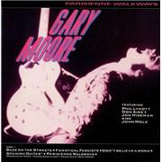 Gary Moore Parisienne Walkways UK vinyl LP