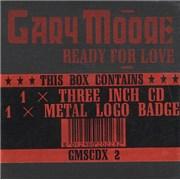 "Gary Moore Ready For Love UK 3"" CD single"
