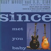 Gary Moore Since I Met You Baby - Digipak UK CD single