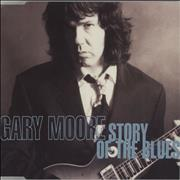 Gary Moore Story Of The Blues UK CD single