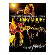 Gary Moore The Definitive Montreux Collection UK DVD