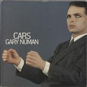 Click here for more info about 'Gary Numan - Cars - Paper label + Sleeve'