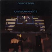 Click here for more info about 'Gary Numan - Living Ornaments '79 And '80 - EX'