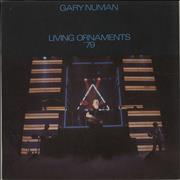 Click here for more info about 'Gary Numan - Living Ornaments '79'