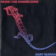 Click here for more info about 'Gary Numan - Music For Chameleons - Mispressed Sleeve'