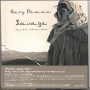Click here for more info about 'Gary Numan - Savage (Songs From A Broken World) + Bonus Sticker'