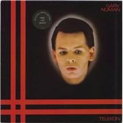 Gary Numan Telekon + Merch Insert UK vinyl LP
