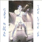 Click here for more info about 'Gary Numan - The Live EP - Black Vinyl'