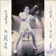 Click here for more info about 'Gary Numan - The Live Ep - White Vinyl'