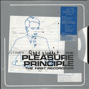 Click here for more info about 'Gary Numan - The Pleasure Principal: The First Recordings - Orange Vinyl - Sealed'