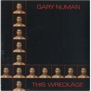 """Gary Numan This Wreckage UK 7"""" vinyl"""