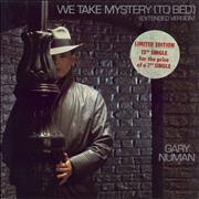 Click here for more info about 'Gary Numan - We Take Mystery To Bed + hypesticker'
