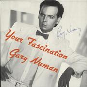 Click here for more info about 'Gary Numan - Your Fascination - Autographed'